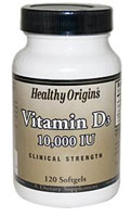 Vitamina D3 10,000 UI 120 SOFT GEL