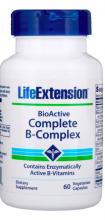 Life Extension, BioActive Complexo B Completo, 60 Cápsulas Vegetais