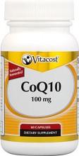 Coenzima Q10 -- 100 mg - 60 Cápsulas Previne doenças cardíacas