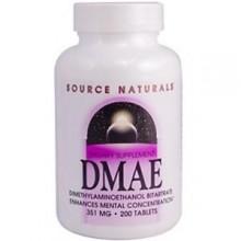 Fonte  Naturals  DMAE, 351 mg, 200 cápsulas