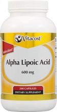 Ácido Alfa Lipóico 600mg 240 caps, Purifica as células