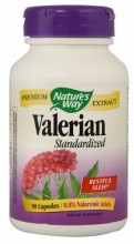 Valerian Standardized -- 90 Capsules