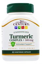 Curcuma, 500 mg, 60 cápsulas vegetarianas