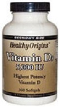 VITAMINA D3, 5.000 IU, 360 SOFTGELS