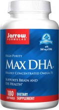 DHA 500mg  180 Softgels  o mais puro dos Omegas