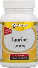 Taurina - 1000 mg - 50 Cápsulas