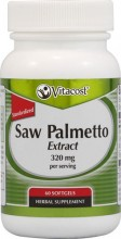 Saw palmetto    320mg  60 capsulas