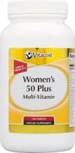Multivitamínico Plus  para mulheres com mais de 50 anos 120 capsulas