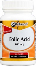 Folic Acid  800 mcg 250 Tablets