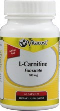 L-CARNITINA  - 500 MG - 60 CAP