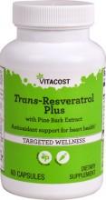 Resveratrol plus 100mg de trans resveratrol 60caps