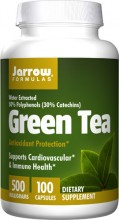 Jarrow Formulas Green Tea -- 500 mg - 100 Capsules